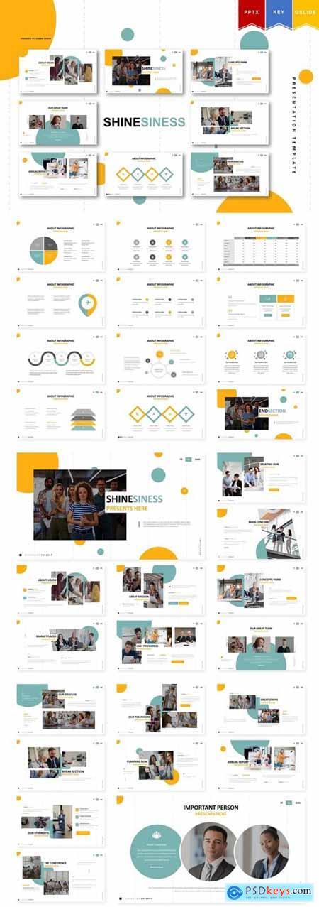 Shinesiness - Powerpoint, Keynote, Google Slides