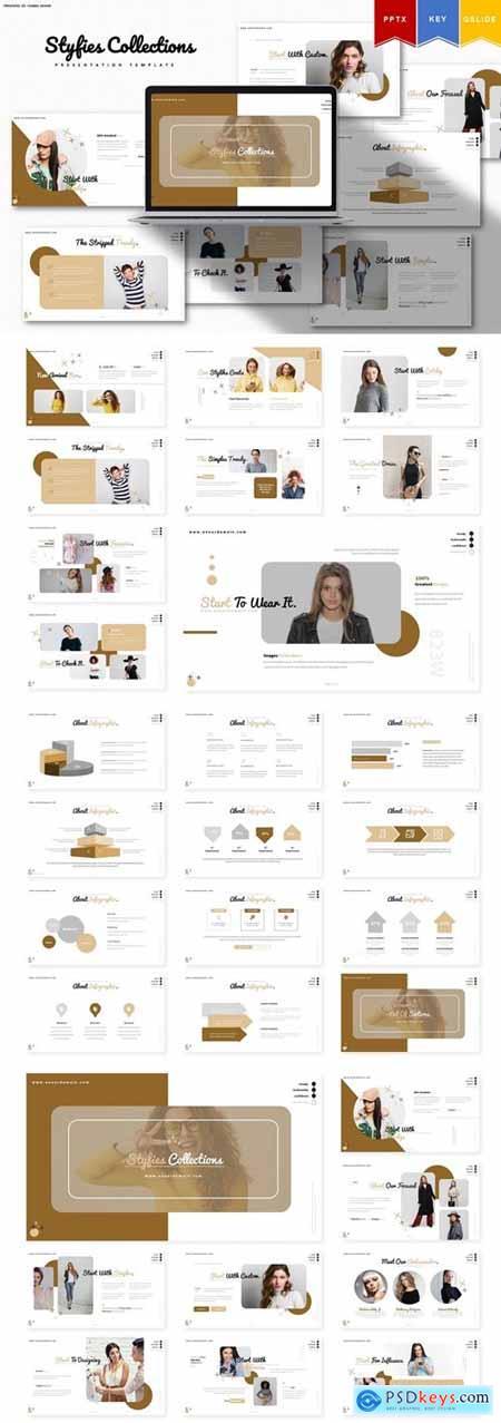 Styfie Collection - Powerpoint, Key, Google Slides
