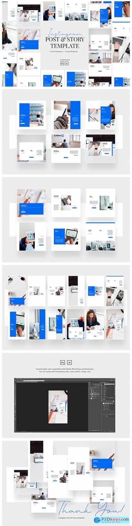 Elegant Business Instagram Template 6682421
