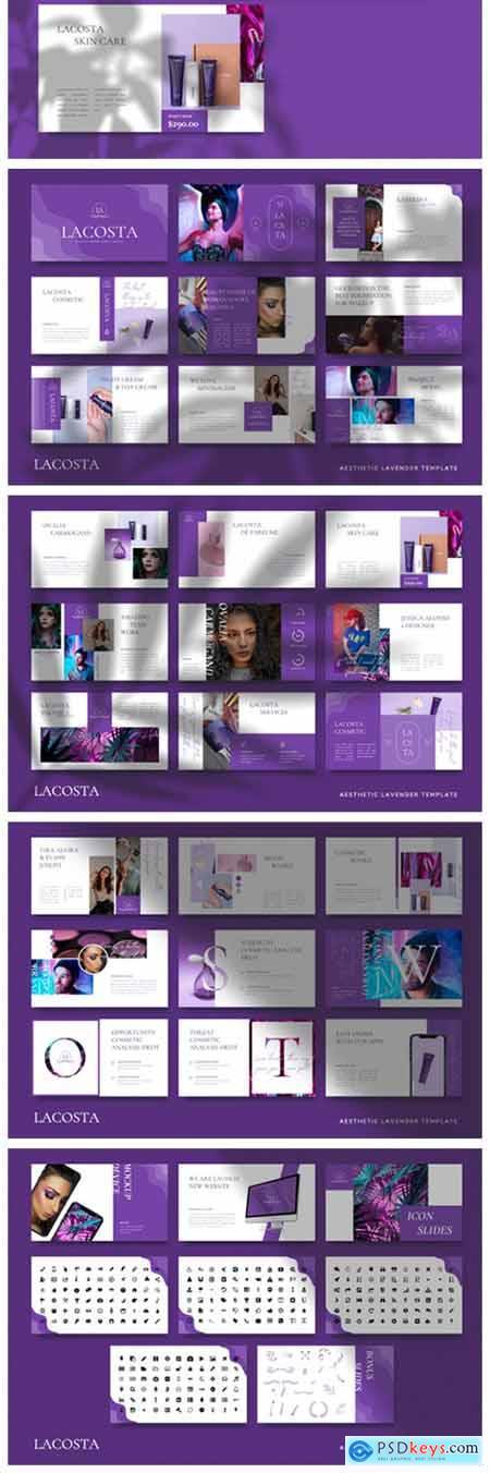 LACOSTA - Cosmetic Keynote Template 6717620