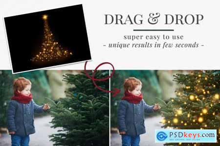 Christmas Trees photo overlays 5636334