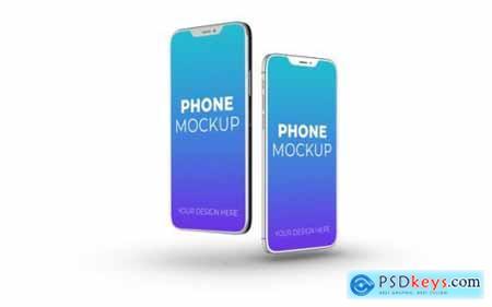 New smartphone mockup