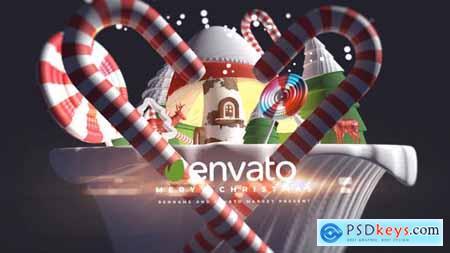 3d Cartoon Christmas Logo - 29348492