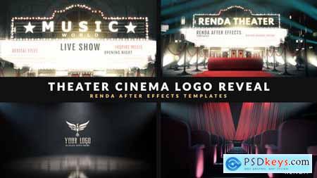 Cinema Intro - Curtain Logo Reveal - 29359910