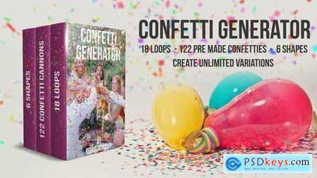 Confetti Generator Bundle - 21668805