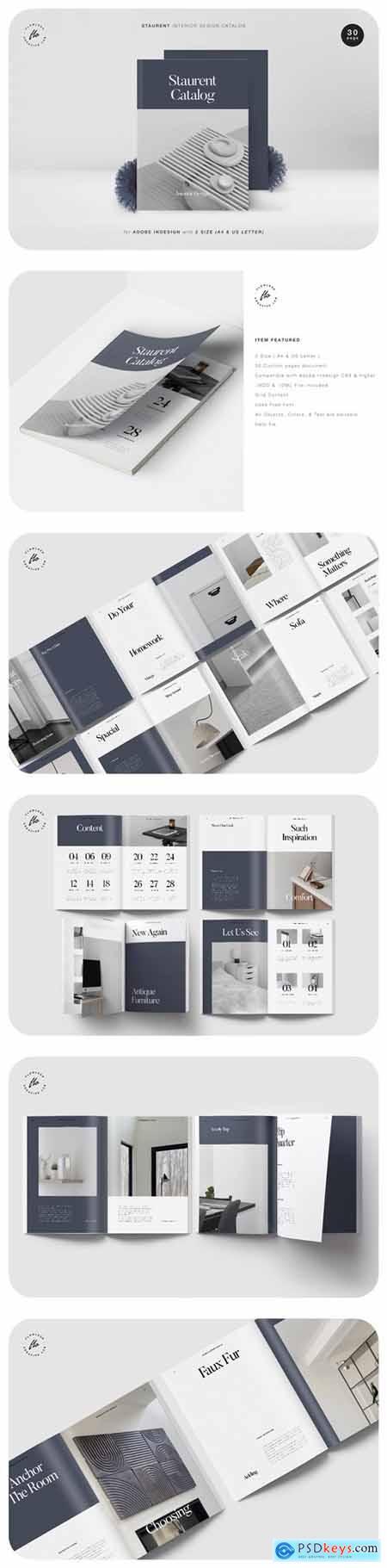 Staurent Interor Design Catalog