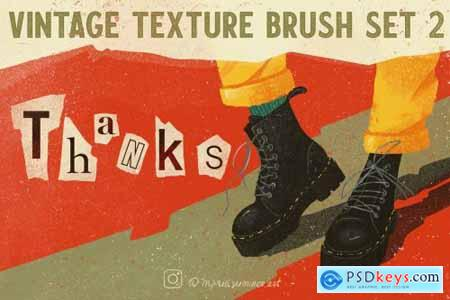 Vintage Texture Brushes 2 Grunge 5633066