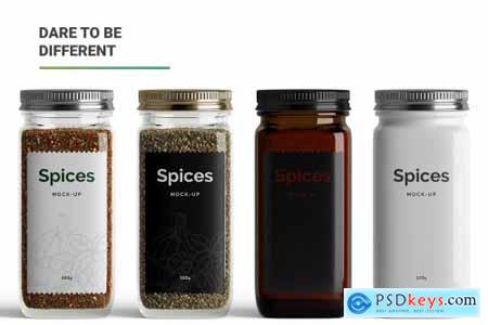 Spices Mockup 5473411