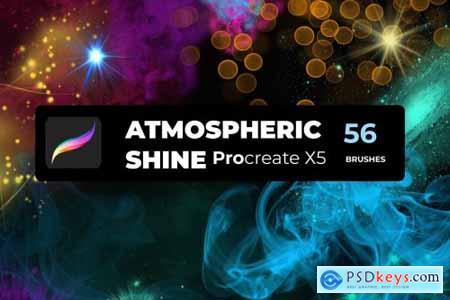 SHINE PROCREATE X5 56 brushes 5625432