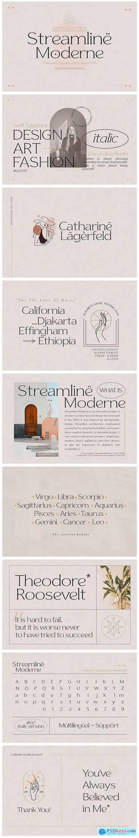 Streamline Moderne 5489481