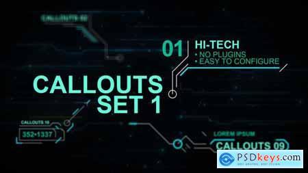 Callouts set 1 hi-tech 24318158
