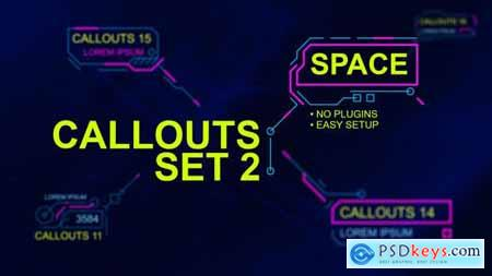 Callouts set 2 space 24318176