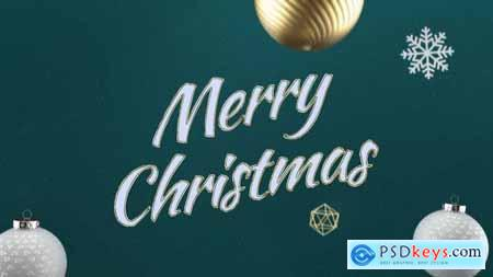 Elegant 3D Christmas Intro 29626091