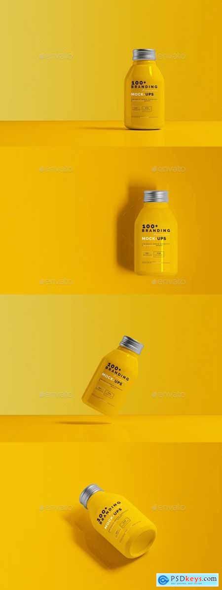 Aluminum Beverage Bottle Mockup 29475061