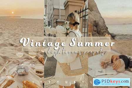 Grainy VINTAGE SUMMER Film Presets 5452867