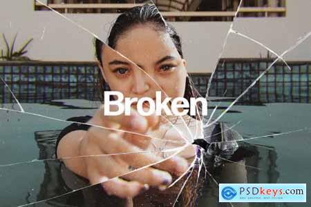 Broken Glass Photo Effect 5671746