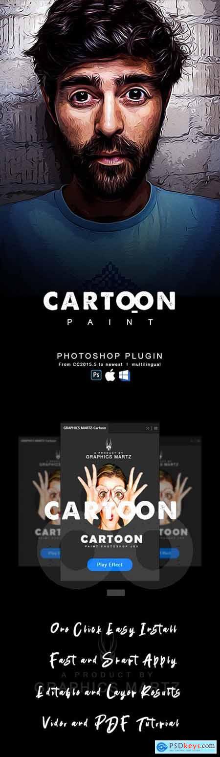 Cartoon Paint Photoshop Plugin 29101533