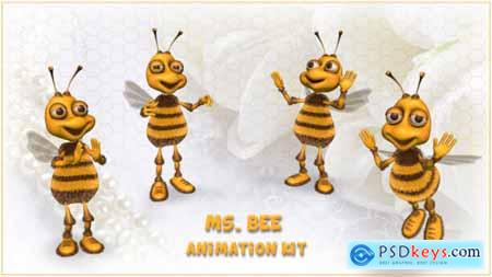 Ms Bee Character - Animation Kit 20185426