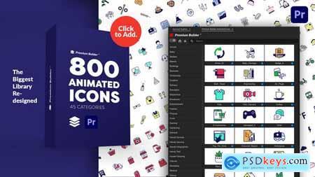 PremiumBuilder Animated Icons - Premiere Pro Extension 29634161
