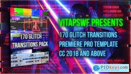170 Glitch Transitions Pack 29062629