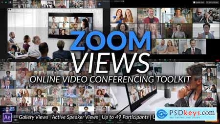 Zoom Views- Online Video Conferencing Toolkit 28972353