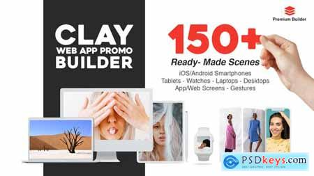 Clay Web App Promo Builder 28890153