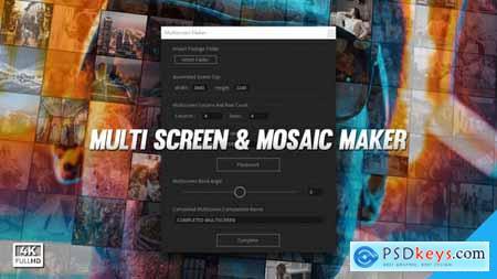 Mosaic & Multiscreen Maker Auto V5 19277984