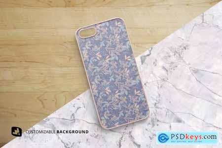 Top View Phone Case Mockup 5081242