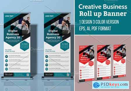 Creative Business Roll Up Banner 5635701