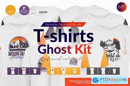 Ghost T-shirts Designer Kit Mock-ups 5280607