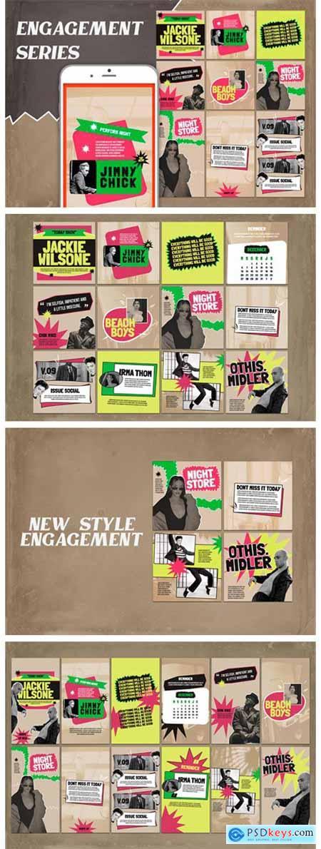 Engagement Instagram Templates 6989720