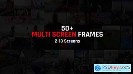 Multi Screen Frames Pack 29641457