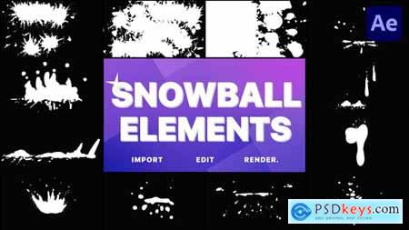 Snowball Elements - After Effects 29648320