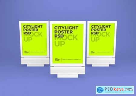 Citylight poster mockup