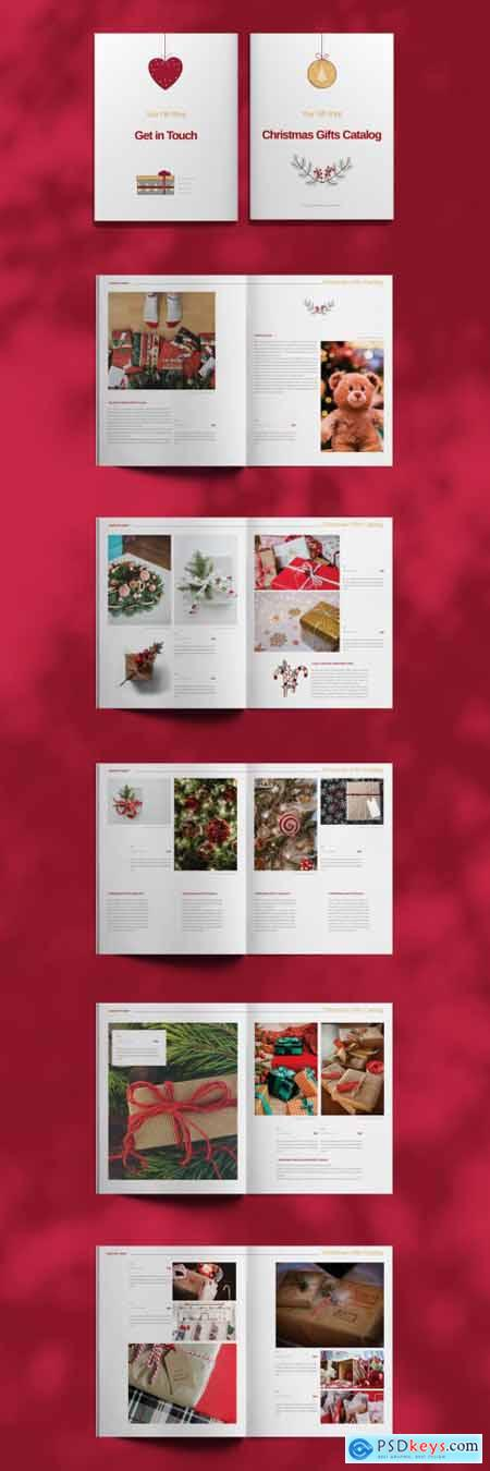 Christmas Catalogue Layout 397072866