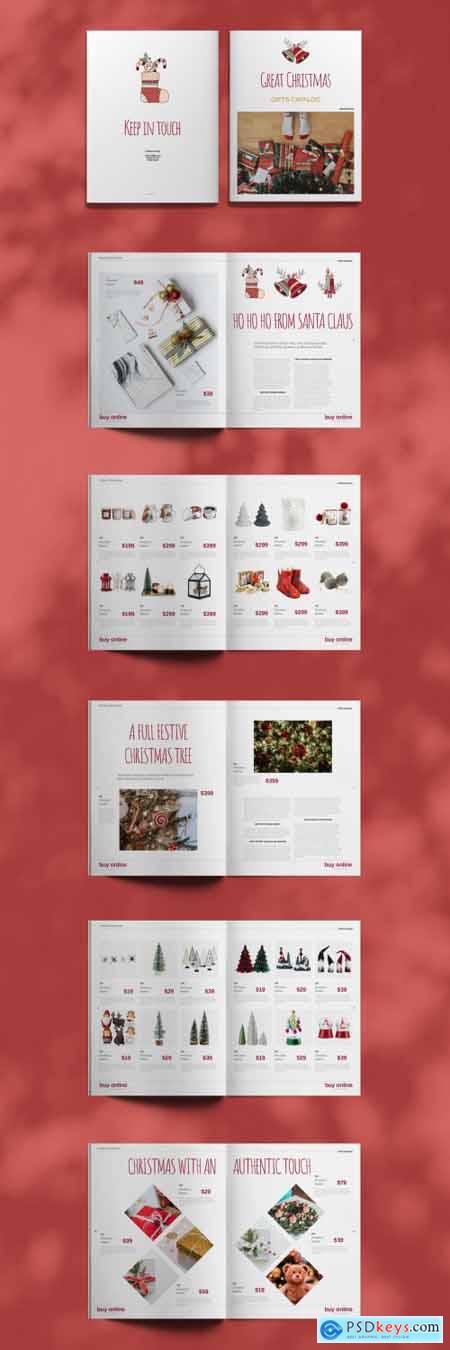 Christmas Gift Catalogue Layout 397072904