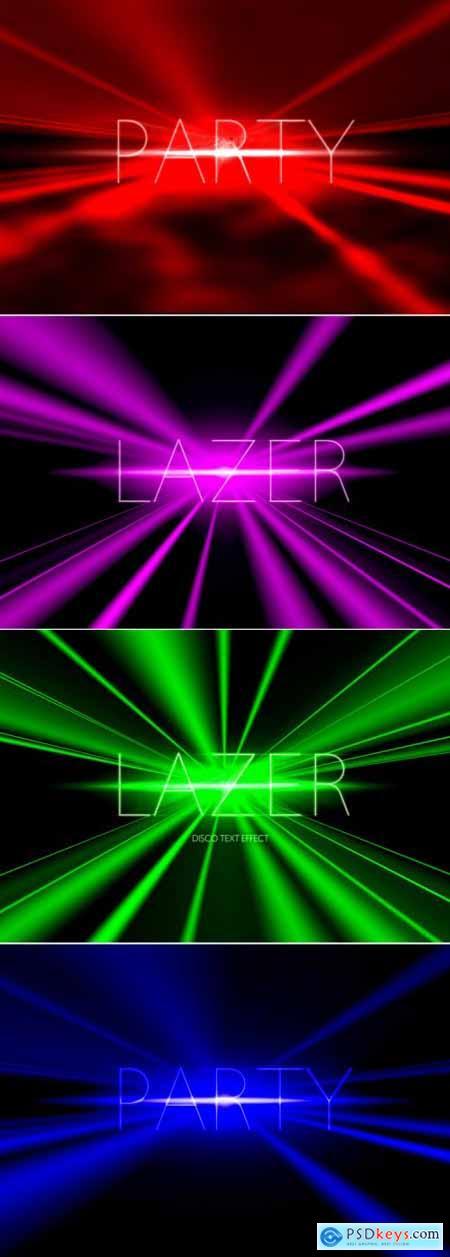 Lazer Text Effect 393402050