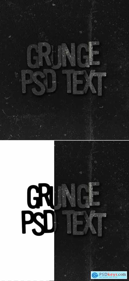Grunge Text Effect 393719611