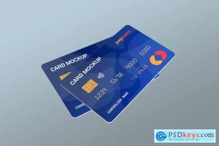 Credit card mockup