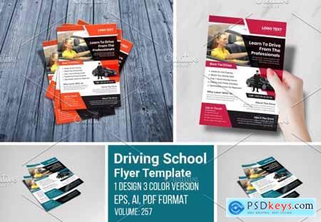 Creative Driving School Flyer 5457669
