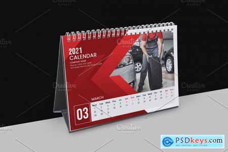 2021 Desk Calendar Template V31 5461503