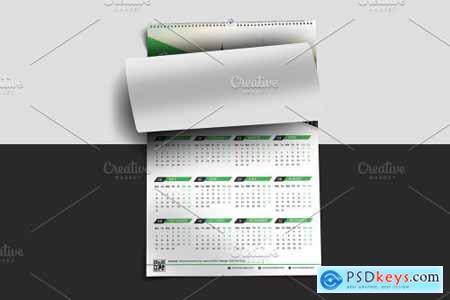 Wall Calendar Template 2021 - V30 5461470