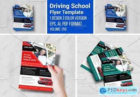 Driving School Flyers Templates 5457671