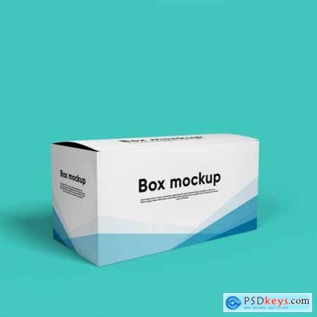 Package box mockup