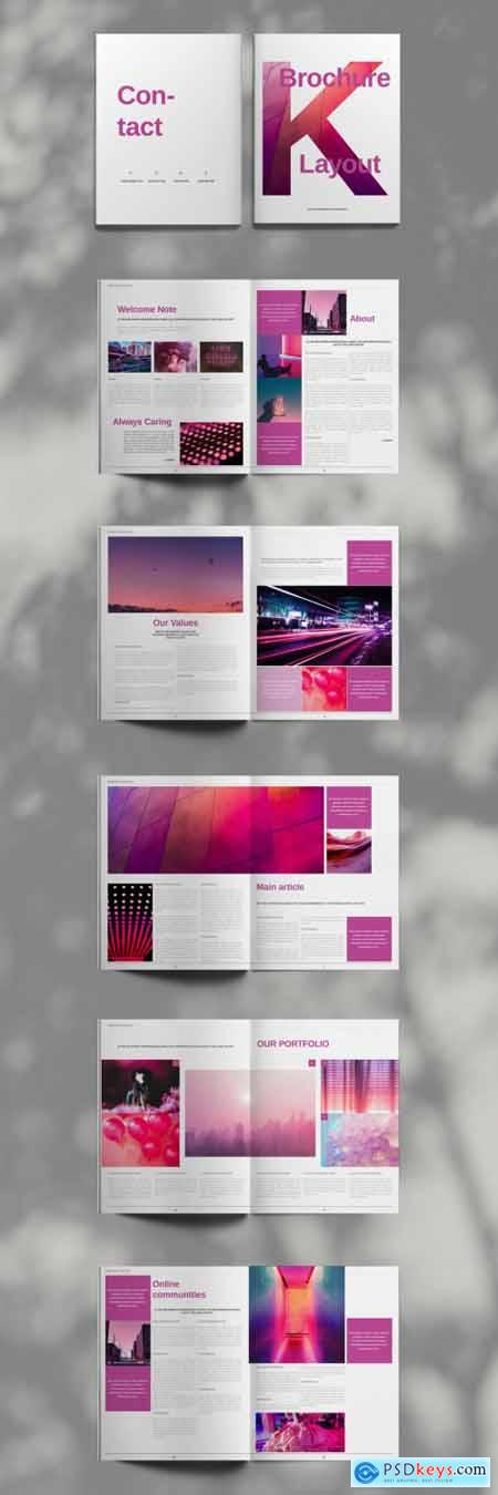 Pink Brochure Layout 394724853