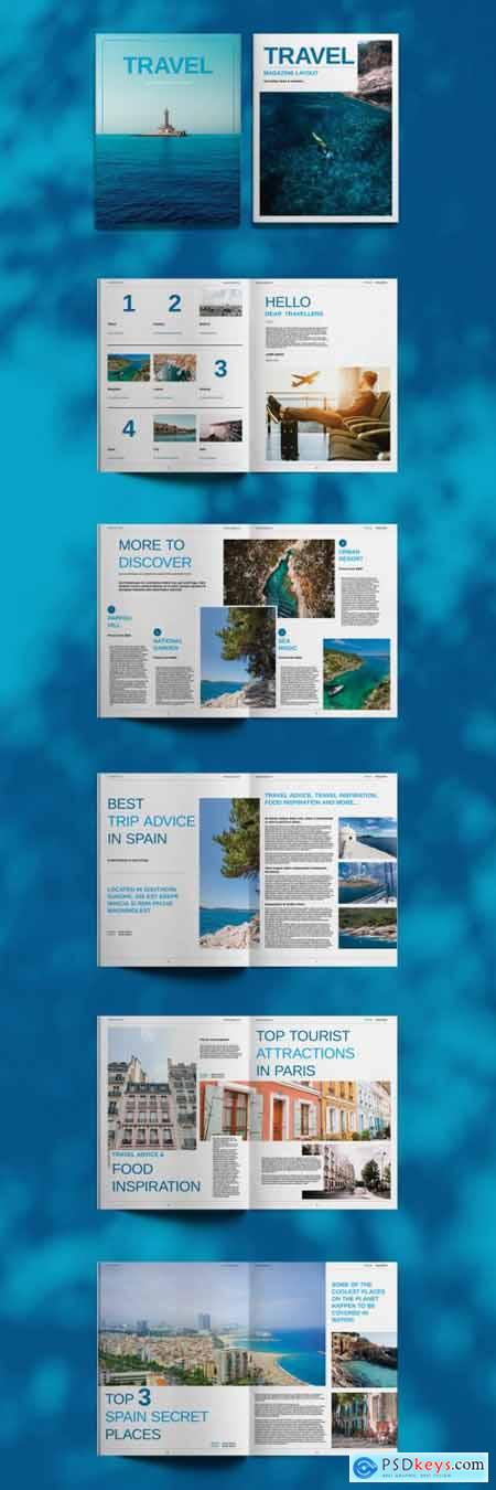Travel Magazine Layout 394724895