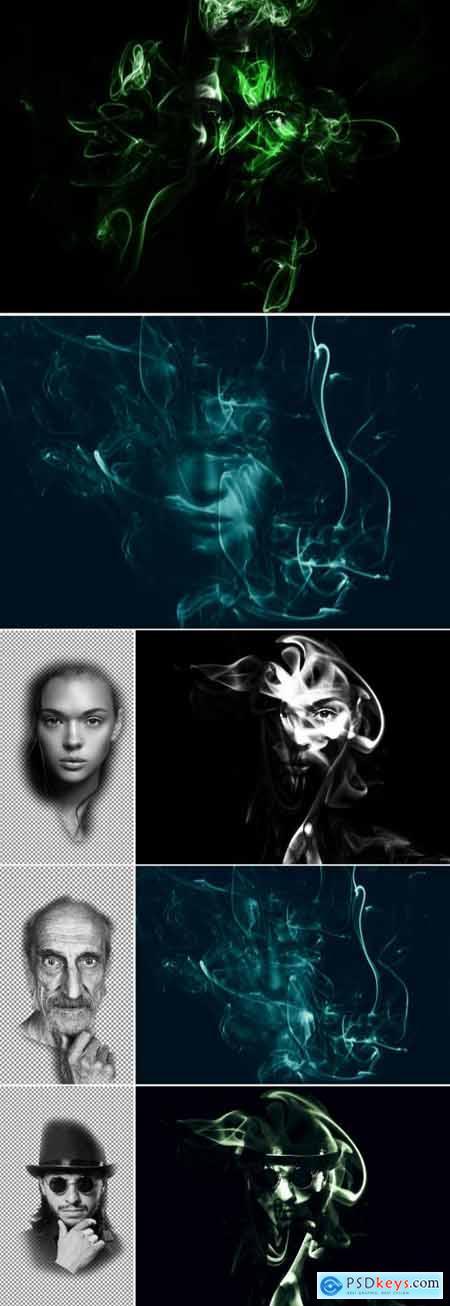 Smoke Mask Effect 393402264