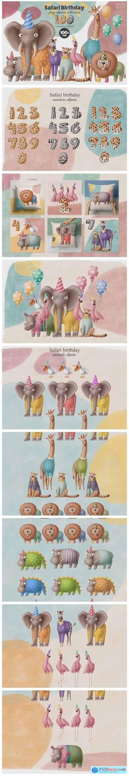 Birthday Animals 100+ Collection 6856310