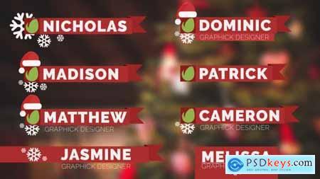 Christmas Lower Thirds 14061269