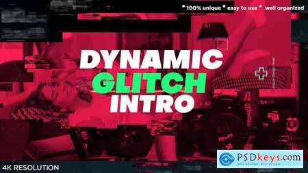 Dynamic Glitch Powerful Intro 29574580